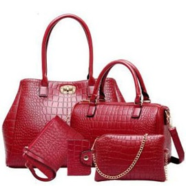 Classic Pu with Little Bags Women