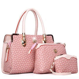 Elegant Graphic Women Bag Set(3 pieces)