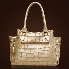 Chic Wrinkled Design Embossing Women's Bag Set ( Three Bags )