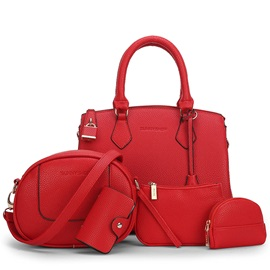 Solid Color Elegant Contour Handbag Sets