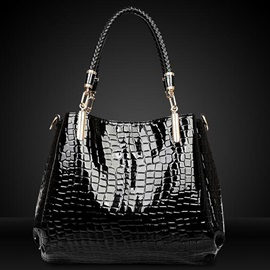 Shiny Stone Embossed Tote Bag Sets