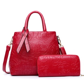 Chinoiserie Rose Embossing Bag Sets