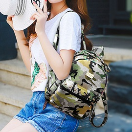 Personality Camouflage Style Bag Set