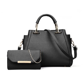 Occident Style Solid Color Women Handbag