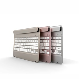 For iPad AIR Wireless Built-in Bluetooth 3.0 ABS Keyboard Case