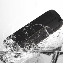 T2 Super Bass Bluetooth Speaker Portable Outdoor Waterproof Column Support FM for iPhone Samsung