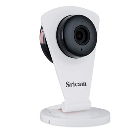 SRICAN 720P WIFI Security Camera with Motion Detection Simple Home IP Camera