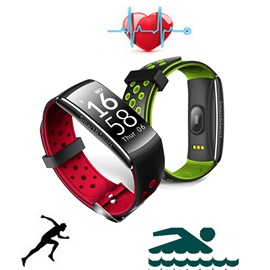 Q8 Sports Smart Bracelet Heart Rate Sleep Monitor IP68 Waterproof OLED Activity Tracker Wristband