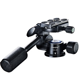 Manbily VH-40 Camera Ball Head Tripod Head Two-dimensional 360 Degree Rotation with Quick Release Plate