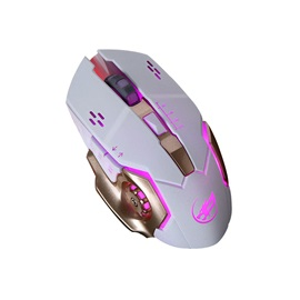 Q8 Wired Mouse 3200 Dpi 6 Buttons Support Reduction Noise