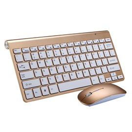 Ultra-thin Wireless Keyboard & Mouse Combo