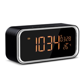 CAROLX DY33L Portable Bluetooth Speaker Support Display Clock