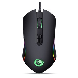 2018 New RGB Mouse 4800 DPI Support Backlight