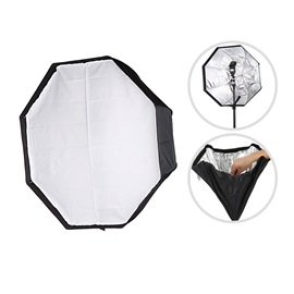 MEKING Foldable 80cm Octagonal Soft-light Box