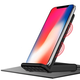 iPhone X Qi Wireless Charger,Fast Wireless Charger Pad for iPhone/Samsung