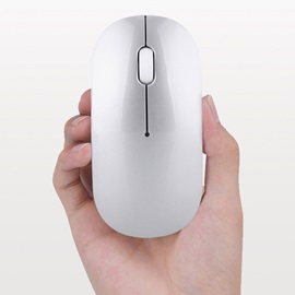 Bluetooth Wireless Slim Mouse Mice for iPad Mac Apple Laptop Macbook Notebook Desktop Tablet Support Windows