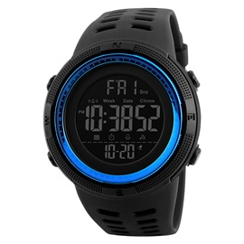 SKMEI's New Waterproof Smart Step Electronic Watch Calories Health Movement Watch Compass Watch For Men