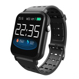 Push Message Silicon Touch-Screen Smart Wristbands