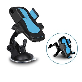360 Degree Rotate Car Load Navigate High Power Silicone Pvc Suck Chassis Automatic Lock Smart Cellphone Holder