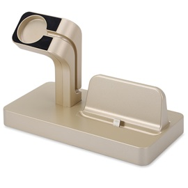 For Apple Watch iPhone Aluminum Charger Dock Station