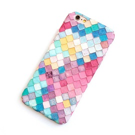 Fish Scales Pattern Phone Back Case for IPhone 7/7plus/6/6s / 6/6splus