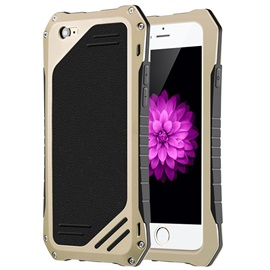 For iPhone6/6Plus/6S/6SPlus Waterproof Drop Dustproof Phone Shell Metal Phone Back Case