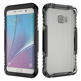 Transparent Waterproof Protective Case for Samsung Galaxy Note 7