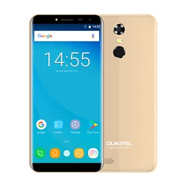 OUKITEL C8 3G Cellphone 2GB RAM 16GB ROM Fingerprint Scanner