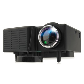 UC28+ Mini LED 30'-100' Digital Projector W/ Hdmi & USB Input Home Cinema
