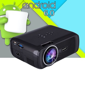 U80 Plus Portable Projector LED HD 1080P 130-inch Home Theater Support WiFi Cast Screen