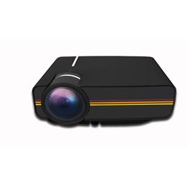Mini Projector 1080P Support HDMI USB VGA AV SD for Home Theater(UK Plug)