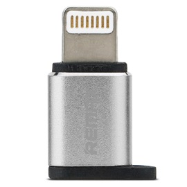 REMAX Metal Type-C Male Connector to Micro USB 2.0 5Pin Female Data Adapter Converter