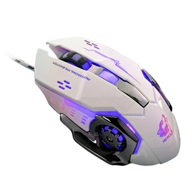 V5 USB Wired Gaming Mouse,2400 DPI Optical Mouse for Desktop/Laptop