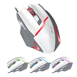 ZELOTES USB Wired Mouse,7200 DPI Optical Gaming Mouse for Desktop
