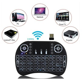 Mini Air Mouse Keyboard,2.4G Touchpad Wireless Bluetooth Keyboard for TV box/Projector/MAC