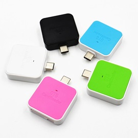 Mini SD/TF Card Reader Adapter for TYPE-C Port Cellphones