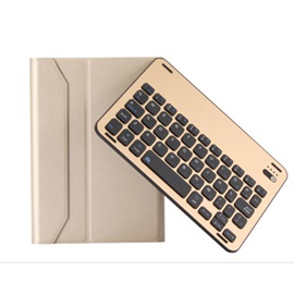 FT-1009 Portable Wireless Keyboard with Protective Case for IPad Mini4