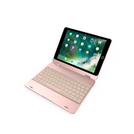 Rotation Wireless Bluetooth Keyboard Case Cover for iPad Pro9.7 for iPad Air 2 Rechargeable Keyboard
