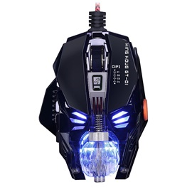 GT-1 Gaming Mouse Wired RGB Light 4000DPI