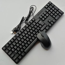 Computer Wired Desktops Mouse Keyboard Sets