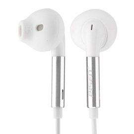 PISEN HD Stereo Wire-control Earphone for iPhone/Samsung