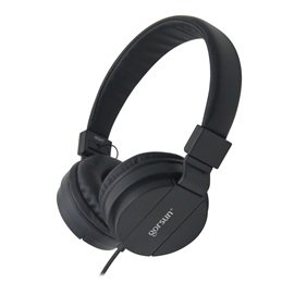 GORSUN GS778 Wired Foldable and Adjustable Lightweight Stereo Headphones