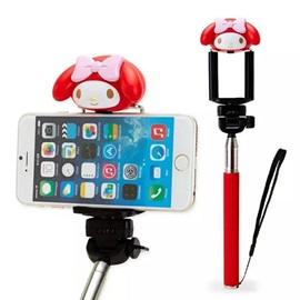 Hot Cartoon Character Selfie Stick for IOS/Android