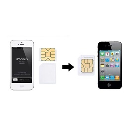 Micro+Standard+Nano Sim Card Adapters+Eject Pin Key For Cell Phone