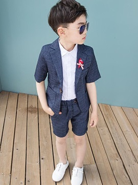 Stylish Boy's Short-Sleeve Suits