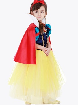 Halloween Cosplay Snow White Girls' Costume