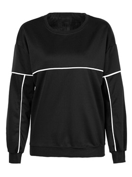 Stylish Color Block Pullover Hoodie
