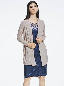 Loose Thin Cardigan Wrapped Knitwear