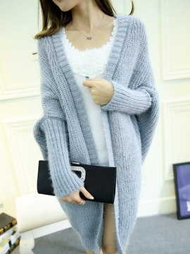 Cardigan Long Sleeve Women Knitwear