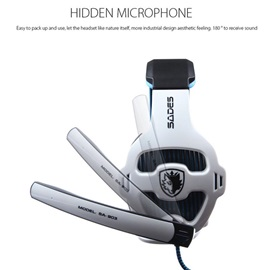 SADES 903 Wired On-ear Headphone